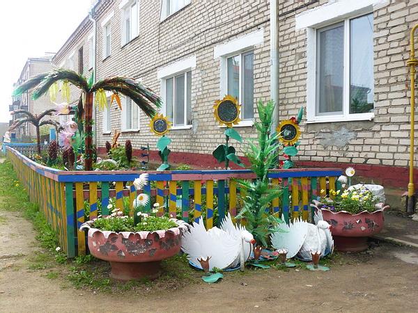 Частный дом украшаем своими руками